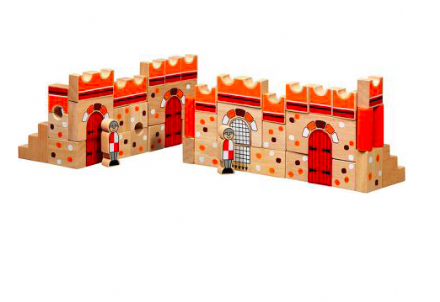 Lanka Kade Wooden Building Blocks - Castle